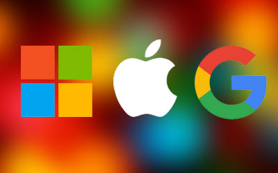 Microsoft, Google, eller Apple